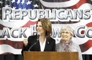 Black Hawk County Republican Women welcome Michelle Bachmann who grew up in Waterloo, Iowa