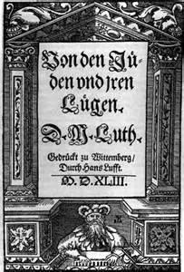 """Deckel des Werkes """"Von den Jüden und Iren Lügen"""" von Martin Luther"""