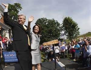 Marcus Bachmann campaigning for his wife, Michele, in Iowa 2010.