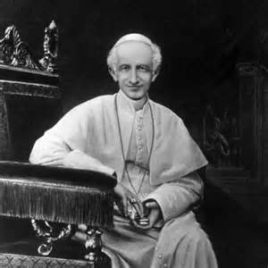 Pope Leo XIII condemns modern philosophy on August 4, 1879