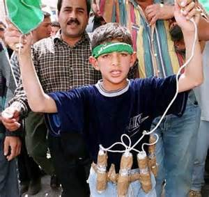 Child suicide bomber
