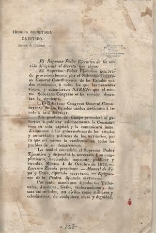 Constitucion Federal de los Estados Unidos Mexicanos (1824)