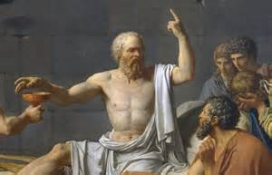 Death of Socrates (by David) before drinking the Hemlock