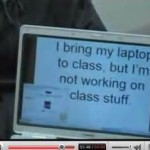 Laptops distract