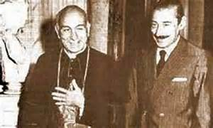 Bergoglio's private mass for Videla