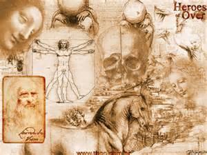 Leondaro da Vinci: architect, artist, inventor, writer, etc.