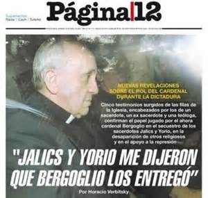 Jorge Mario Bergoglio turned on Jesuits who fought for Liberation Theology and rights of the poor.