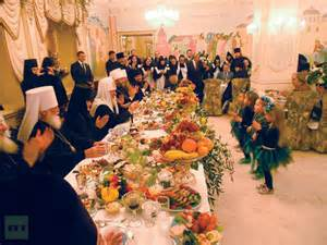 Kirill's dinner guests enjoy the best Russia has to offer while the poor go hungry.