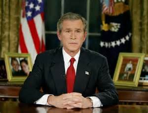 "George W Bush declares a ""crusade"" against Iraq 2003 (lasts until 2011)"