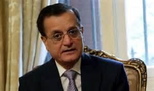 Lebanese Foreign Minister Adnan Mansour