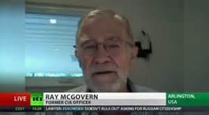 Ray McGovern 22 year CIA analyst