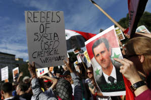 Rebels used gas in Syria
