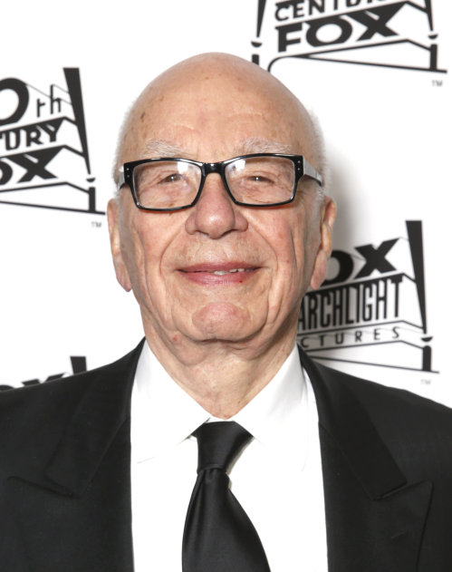 Rupert Murdoch a strong supporter of Israel and the USA funding Israel.
