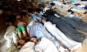 <i>Syria's Sarin gas holocaust</i>