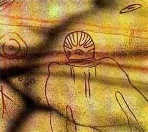 <i>Tassili stone art, Sahara Desert</i>