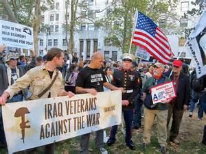 USA veterans against war.