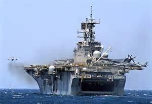 US warships off coast of Syria,