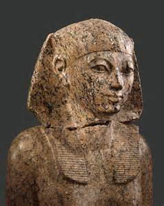 <i>Hatshepsut wearing the nemes headress of the 18th dynasty</i>