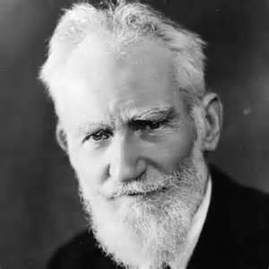 <i>George Bernard Shaw</i>