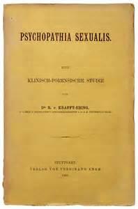 <i>Psychopathia Sexualis</i> (1886)