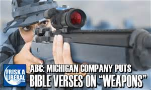 <i>Bible verses on weapons</i>