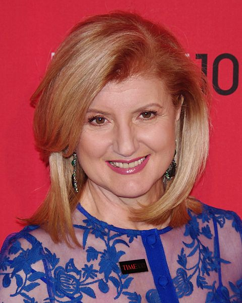 <i>Arianna Huffington 2012,</i> photo by David Shankbone.