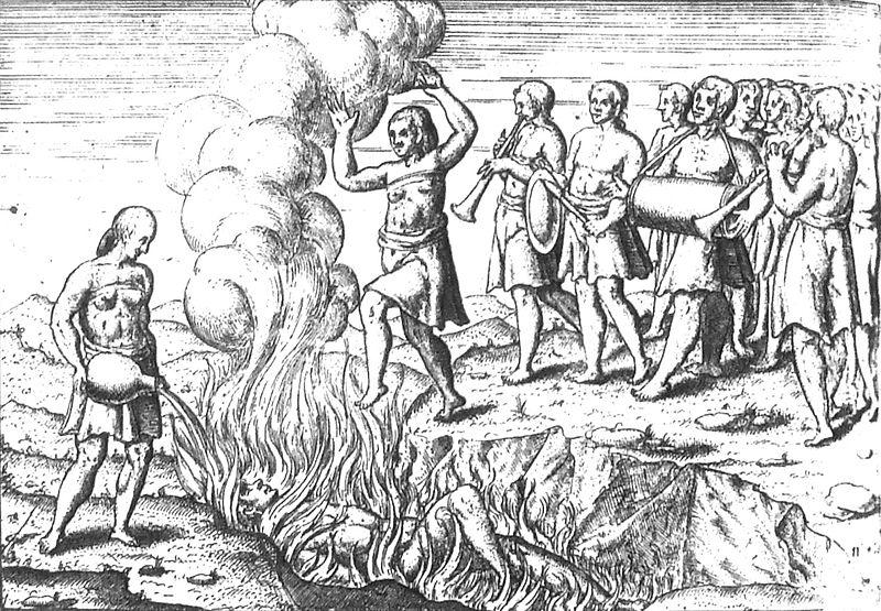 <i>Balinese rite of Suttee</i> Houtman 1597 Verhael van de Reyse