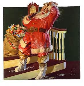 <i>Coca-Cola Santa Claus advertisement (1931)</i>