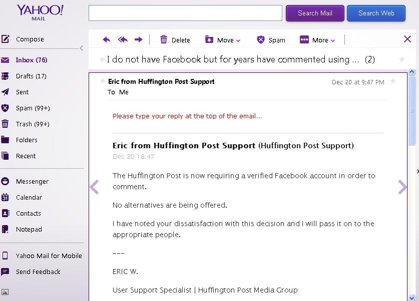 <i>HuffPost final response</i>