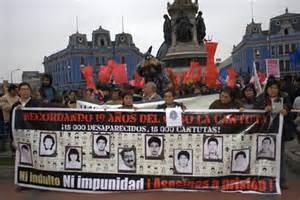 <i>La Cantuta Massacre protest</i>