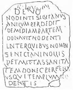 <i>Nodens inscription</i>