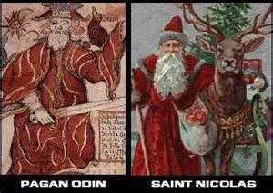 <i>Odin and Santa Claus</i>