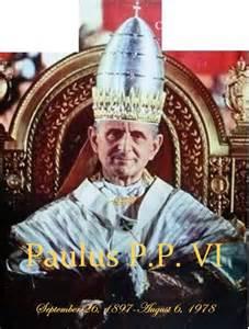 <i>Pope Paul VI</i>