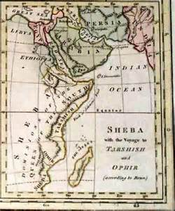 <i>Map of the empire of Sheba</i>