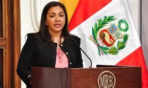 <i>Perú Vice President Marisol Espinoza </i>