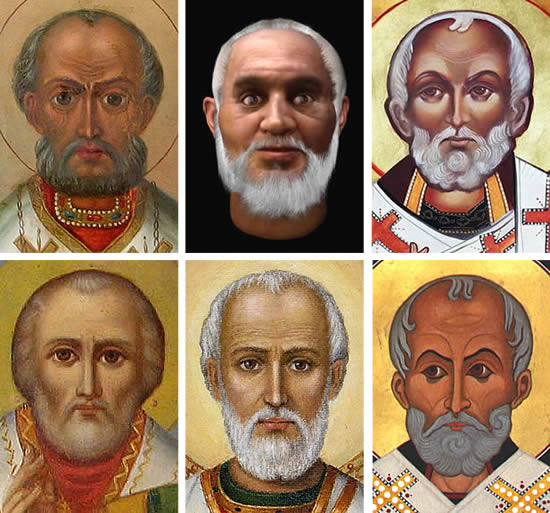 <i>The changing face of St. Nicholas</i>