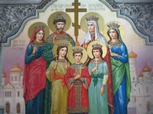 In 2000 the Russian church canonized the Romanov family as passion bearers