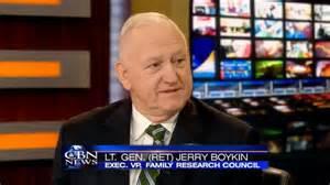 <i>Jerry Boykin</i> End Time prophet.