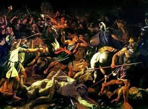 <1st recorded Jewish Holocaust: Gideon kills all Midianites Book of Joshua</i>
