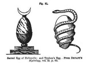 <i>The egg as a symbol of life and knowledge and unity.</i>