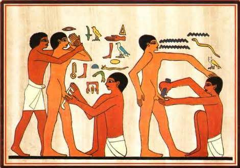 <i>Ancient Egyptian circumcision</i>
