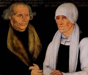 <i>Hans and Margarethe Ludder (Luther), Martin's parents</i>