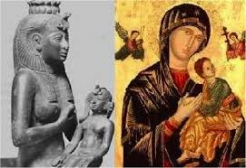 <i>Theotokos: the image of Mary based on ancient Egyptian theology of Isis and Horus.</i>
