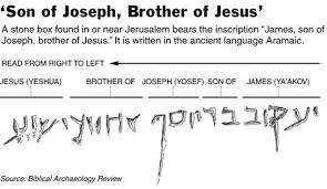 <i>James the brother of Jesus.</i>