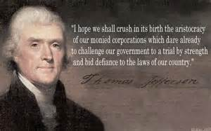 <i>Thomas Jefferson on Corporations</i>