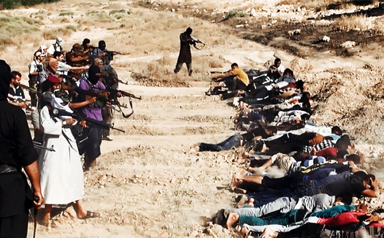 DAESH (Isis)  mass execution