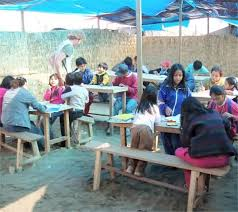 Poverty and education in Peru.