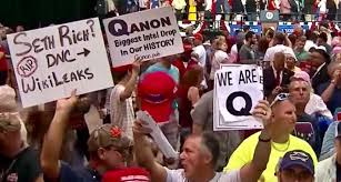 QAnon at the riot